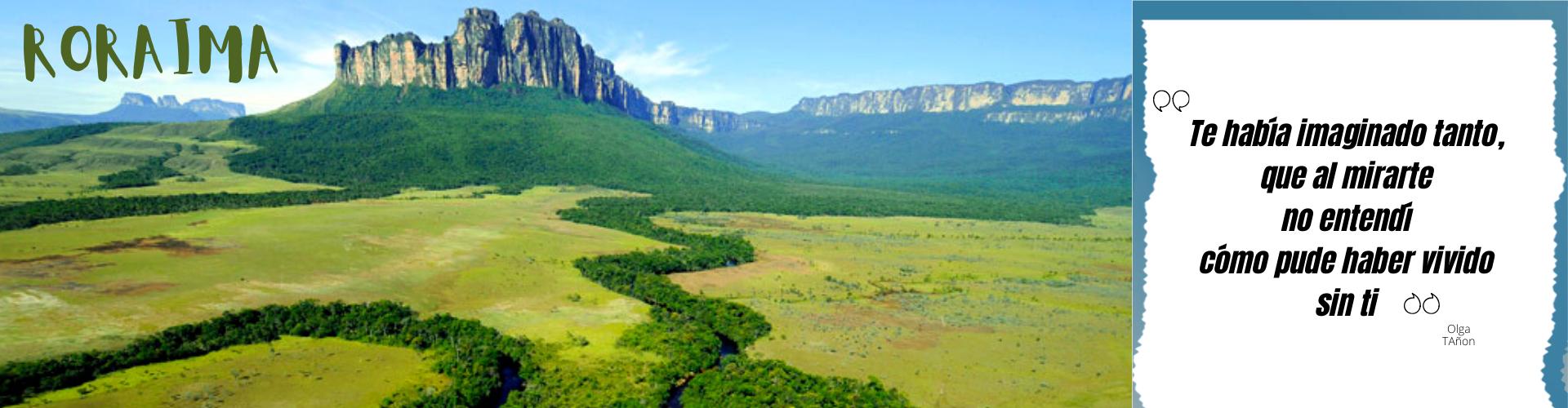 turismo verde Roraima