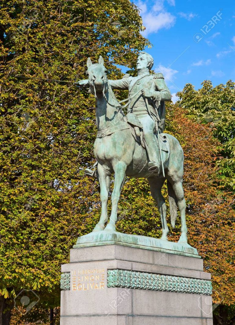 Simon Bolivar- Paris